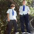 boys on tree