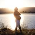 pregnant sunrise